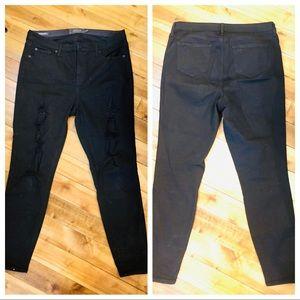 Torrid premium Black Jeans Sky High Skinny